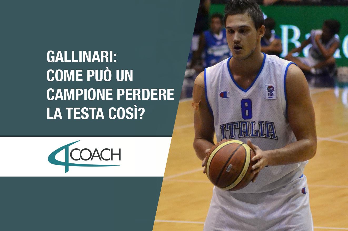 coach italy gallinari italia reazione